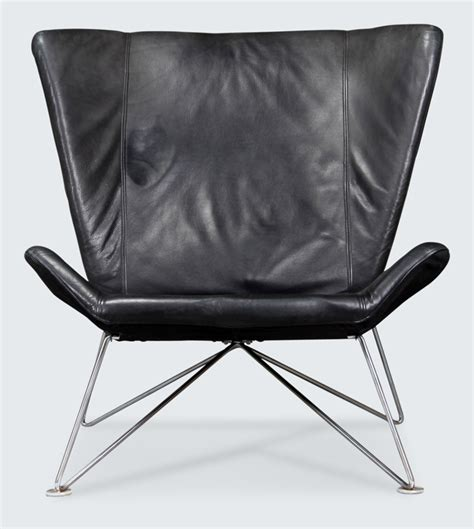 black leather armchair stylish danish leather chair over 60 off only 400
