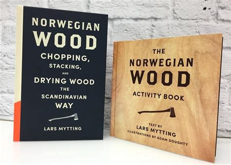 norwegian wood activity book 0857056573 adam doughty illustration