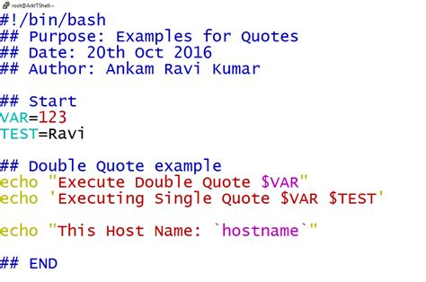 java pattern double quotes shell scripting tutorial quotes double single and reverse