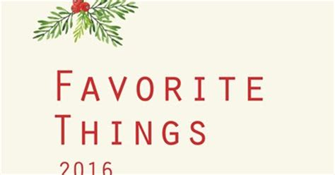 don't disturb this groove: favorite things 2016