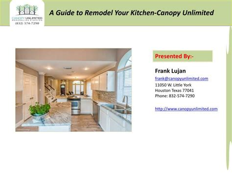 how to remodel your kitchen ppt how to remodel your kitchen by canopy unlimited