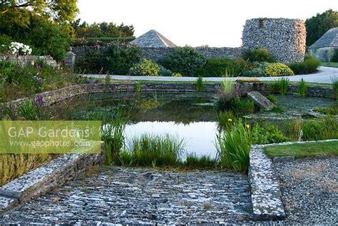 Coastal Farm And Garden by Gap Gardens Farm Pond Coastal Garden Dorset Image