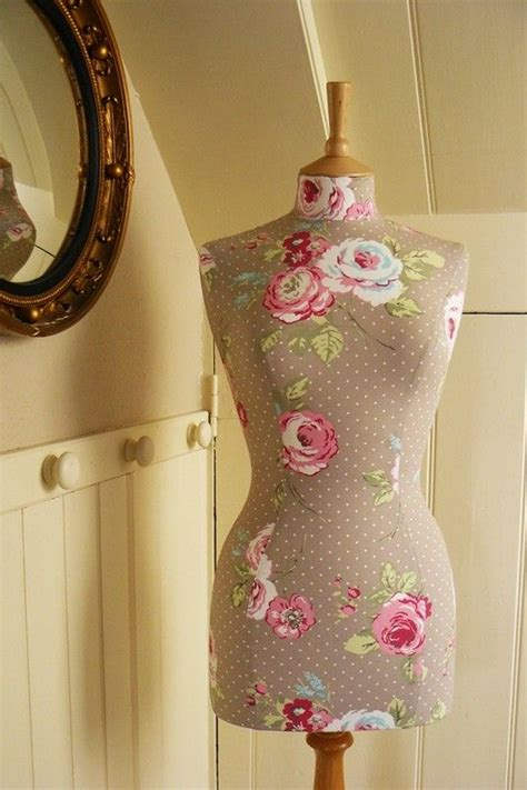 mannequin bedroom decoration vintage style home decor mannequin female dressform bust floral print amelia