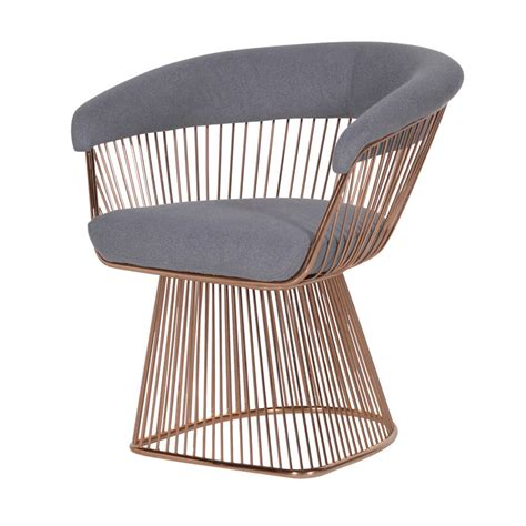 Wire Chair by Gold Wire Chair By Out There Interiors