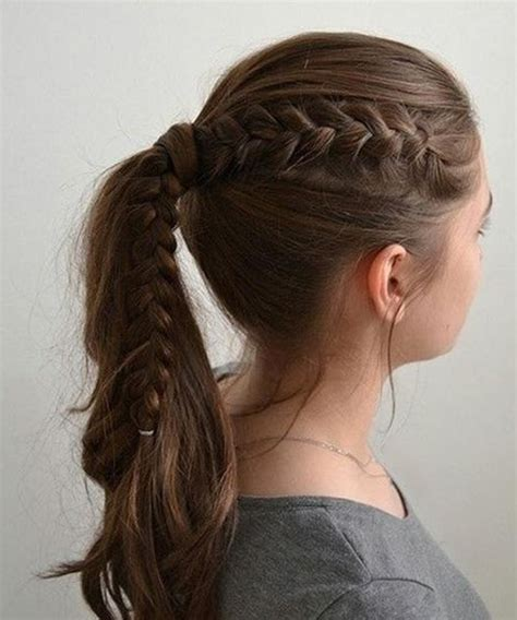 extremely easy hairstyles for school cutest easy school hairstyles for girls dinga poonga
