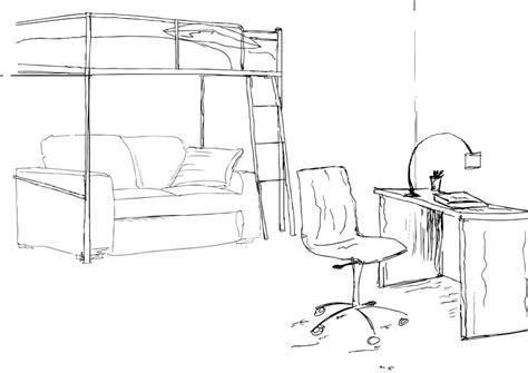Aménager Un Studio étudiant by Plan De Chambre Avec Archifacile Comment Dessiner Une