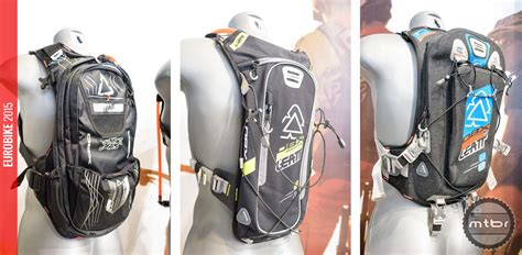 2015 hydration pack reviews eurobike 2015 new leatt hydration packs gloves and