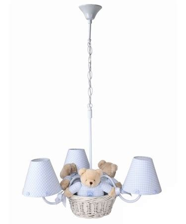 Baby Boy Ceiling Lights Gingham Chandelier Shades Chandelier