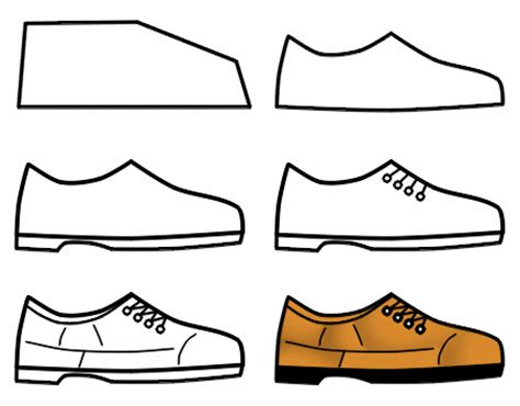 how to draw shoes drawing shoes