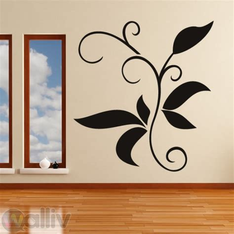 Leaves Wall Sticker decorative branch leaves wall sticker decal