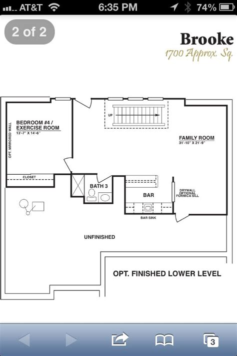 finished basement floor plan house house house