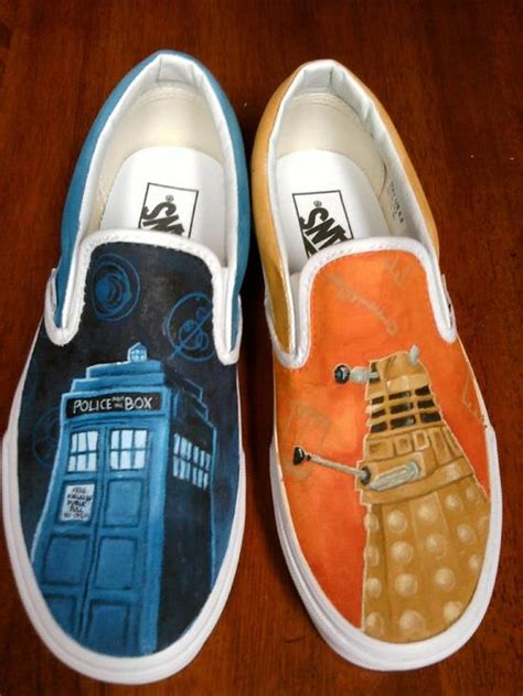 dr who sneakers fanboy fashion tag archive dalek