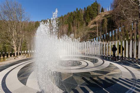 Landscape Oslo New Oslo Installation Reflects Landscape In