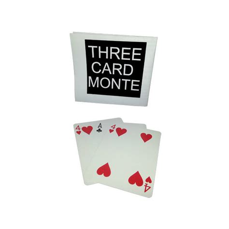 3 Card Monte 3 card monte card trick self working variation