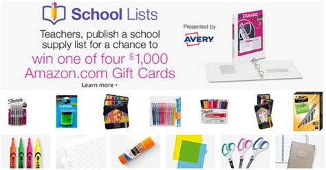 1000 gift card money saving 174 teachers enter to win one of four 1 000 gift