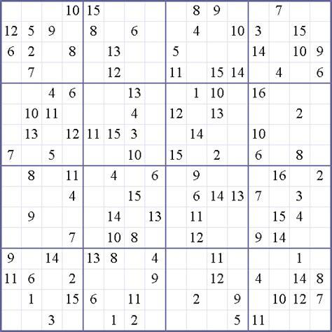 weekly printable sudoku 16x16 sudoku weekly print this puzzle 16x16 hard puzzle
