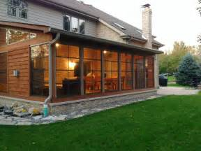 Enclosed Patios St Louis Screened Porches Your Backyard Is A Blank