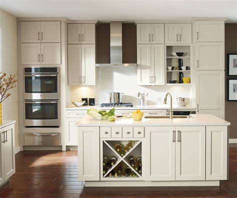 off white shaker style cabinets culver updates the wide rail shaker look with a soft