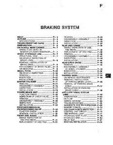 Brake System Pdf File Mazda 626 1992 1993 1994 1995 1996 1997 Braking System