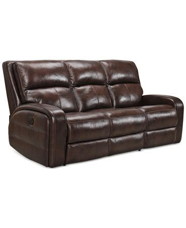 hannon leather power motion sofa hannon leather power motion sofa furniture macy s