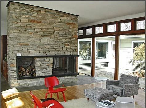 22 best mid century modern fireplaces images on pinterest