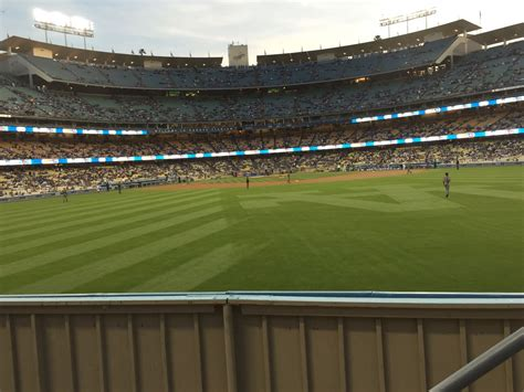 Section 314 A by Dodger Stadium Section 314 Rateyourseats