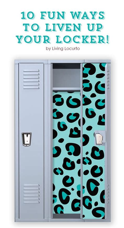 8 Ways To Liven Up An Office by 10 Ways To Liven Up Your Locker School Lockers