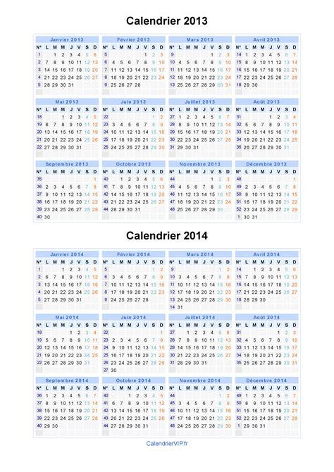 calendrier 2013 2014 224 imprimer gratuit en pdf et excel