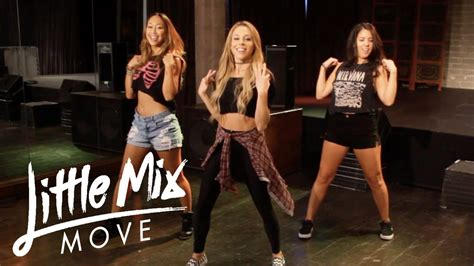 tutorial dance little mix little mix move dance tutorial youtube
