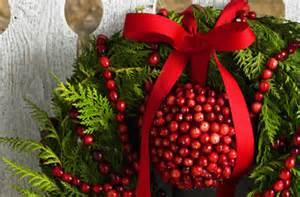 cranberry string christmas decorations home decor 2017