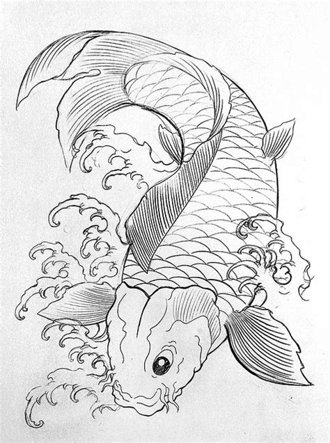 Free Coloring Pages Of Koi Fish Koi Fish Coloring Page