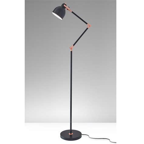 Modern Black Floor L by Willo Black Floor L Lighting Article Modern Mid