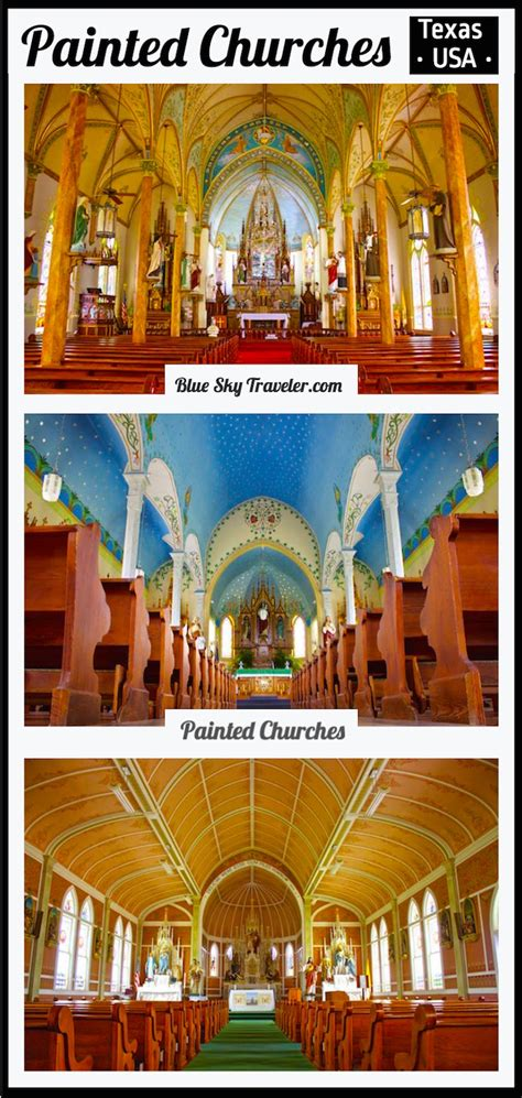 texas painted churches map painted churches of texas blueskytraveler