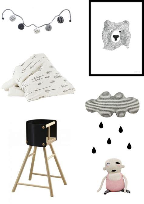 Black And White Nursery Decor Ebabee Likes Black White Nursery Decor Ideas