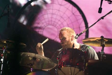 coldplay drummer coldplay perform in brisbane