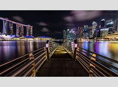 Marina Bay At Night Singapore 4K 8K Wallpapers | HD ... London Skyline At Night From Above