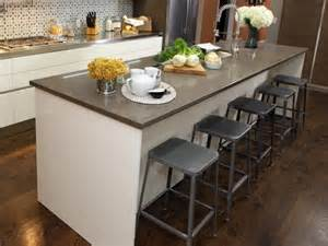 Chair For Kitchen Island by Kitchen Island Design Ideas With Seating Smart Tables