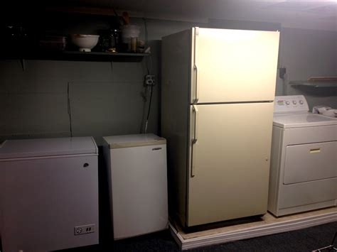 Freezer In Garage by Why Buying A Chest Freezer Is Saving Us Serious Money
