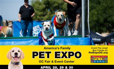 A Dogaes Dayaethe Pet Expo by Win Tickets America S Family Pet Expo April 27 30 At Oc
