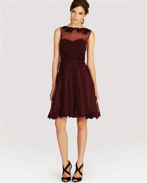 karen millen boat neck dress karen millen dress velvet lace applique bloomingdale s