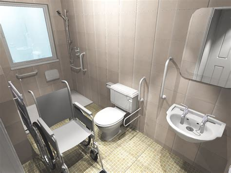 handicapped accessible bathroom designs handicap access