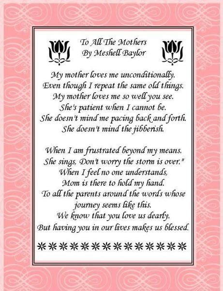 mothers day poems from unborn baby poem to unborn child
