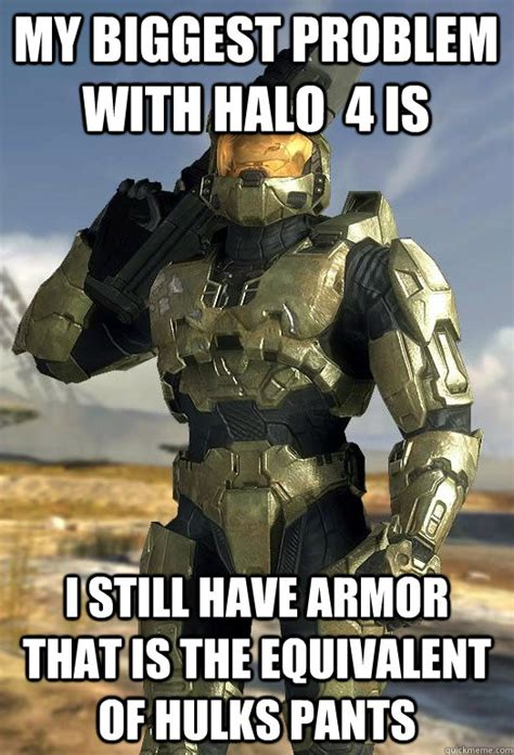 i have the following problem with the armour in starcraft my biggest problem with halo 4 is i still have armor that