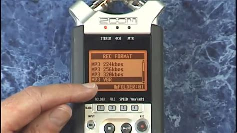 video tutorial zoom h4n zoom h4n tutorial review mic lo cut and other record