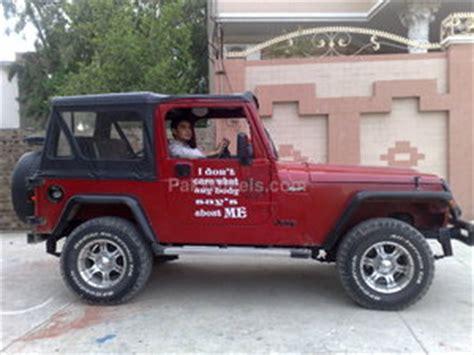 Jeep Wrangler Price In Pakistan Jeep Wrangler Price In Pakistan