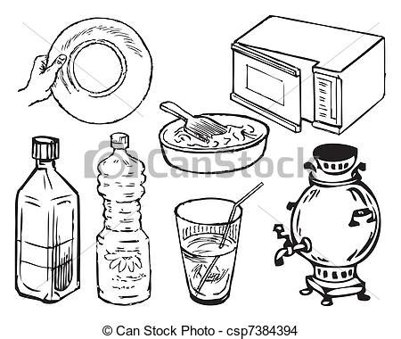 kitchen supplies coloring pages kitchen supplies drawing