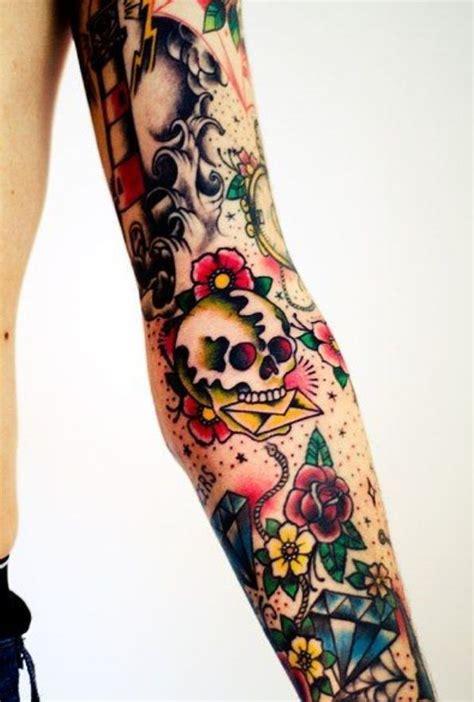 tattoo arm fillers old school sleeve filler ink pinterest sleeve old