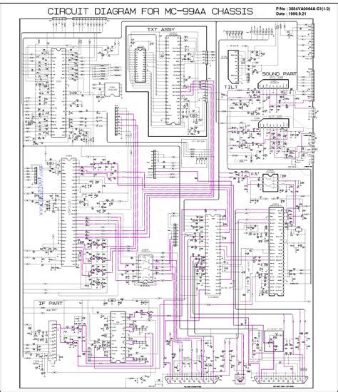 lg tv diagram lg tv mc99aa service manual schematics eeprom