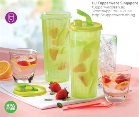 Botol Infused Water Tupperware evergreen products archives buy tupperware singapore