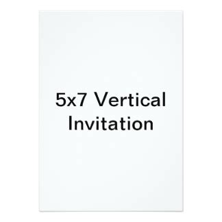 5x7 invitation template 5x7 gifts on zazzle